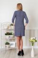 Платье Lucky mum 1140 василек