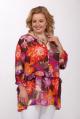 Блуза Djerza 0214 мультиколор