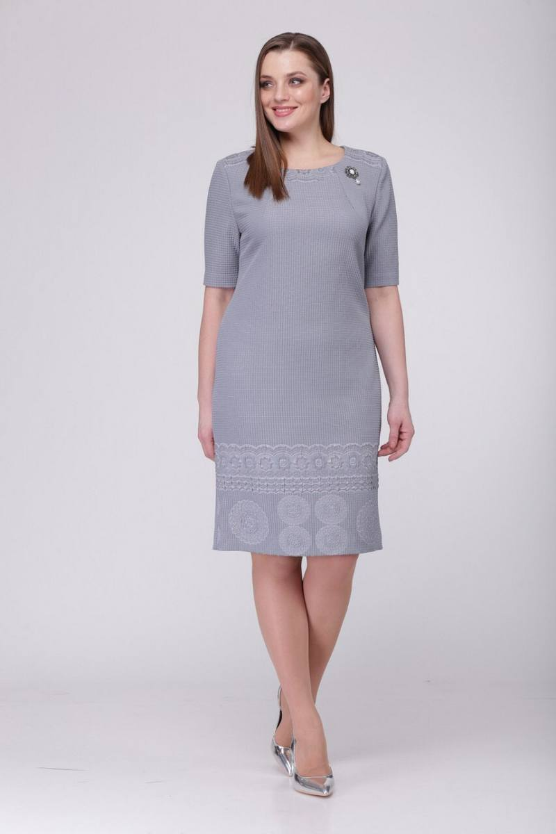 платье TAiER 767 серый