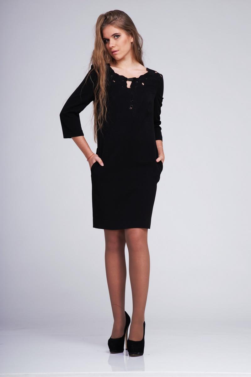 платье AMORI 9180 черный