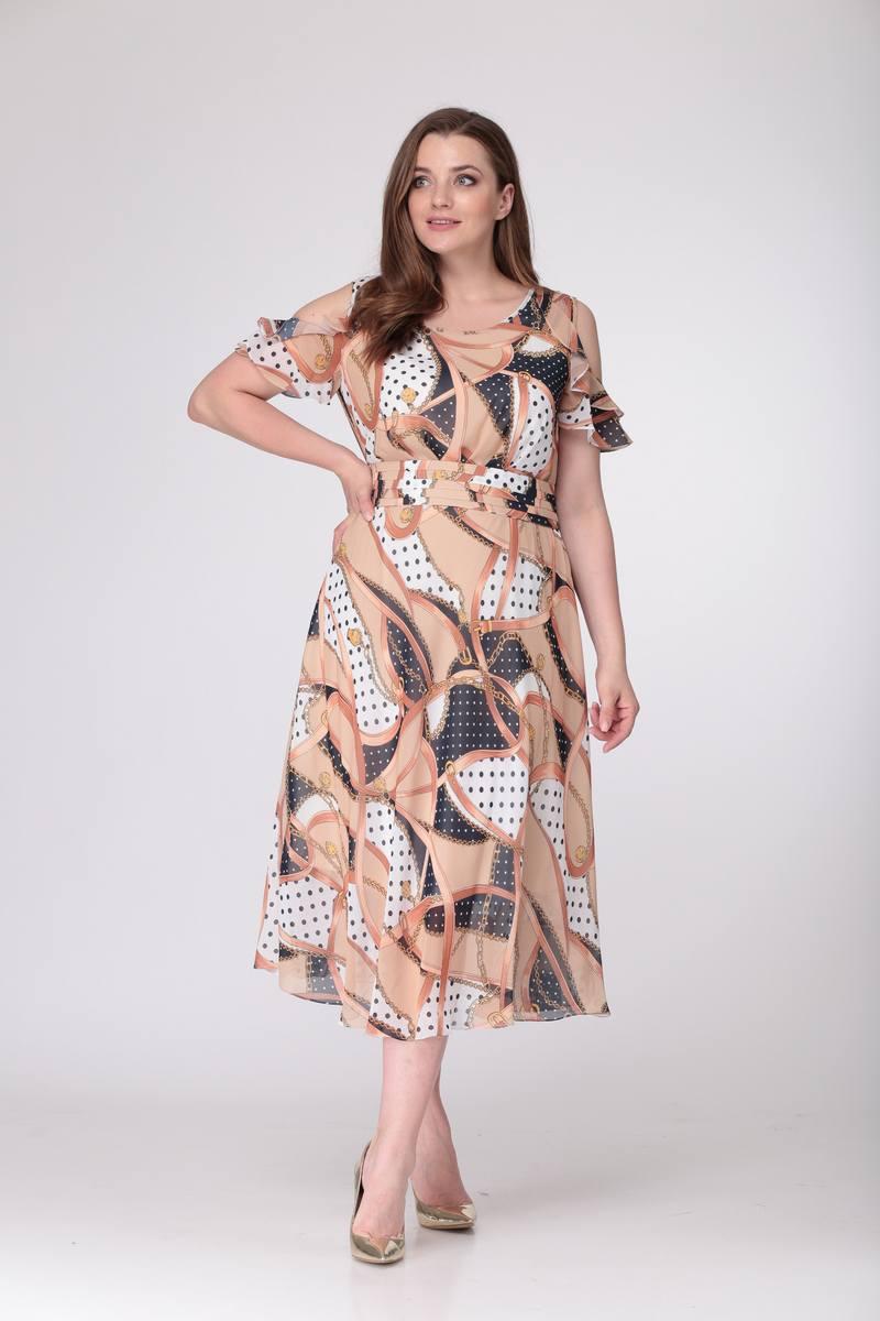платье TAiER 704 карамель