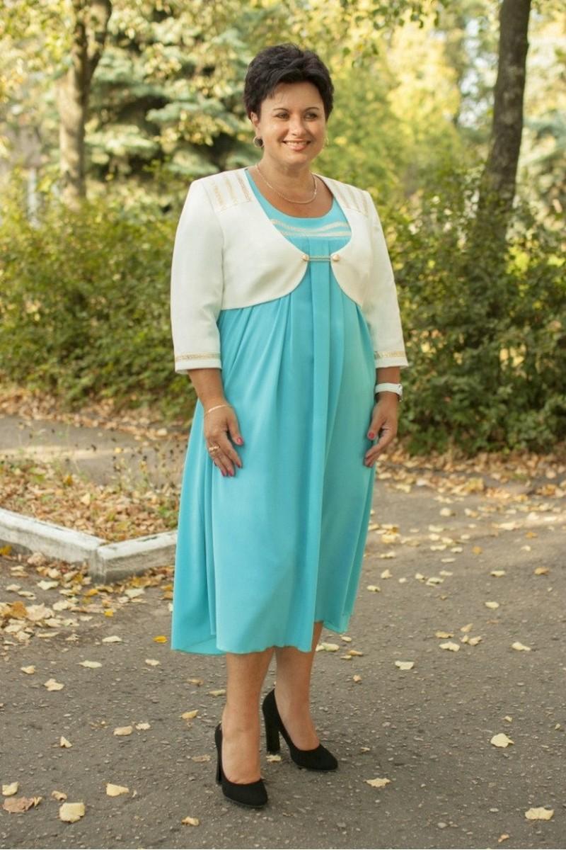 болеро,  платье Classic Moda 456