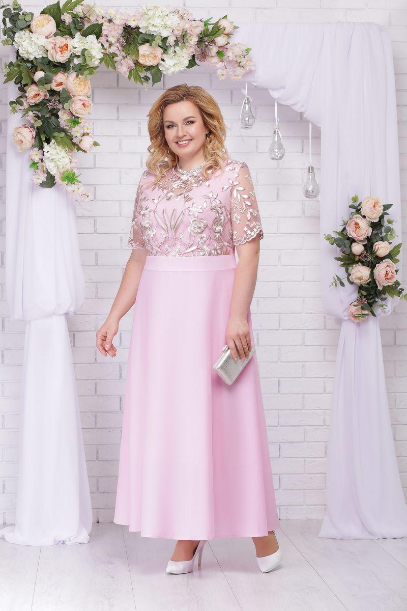 платье Ninele 2195 пудра