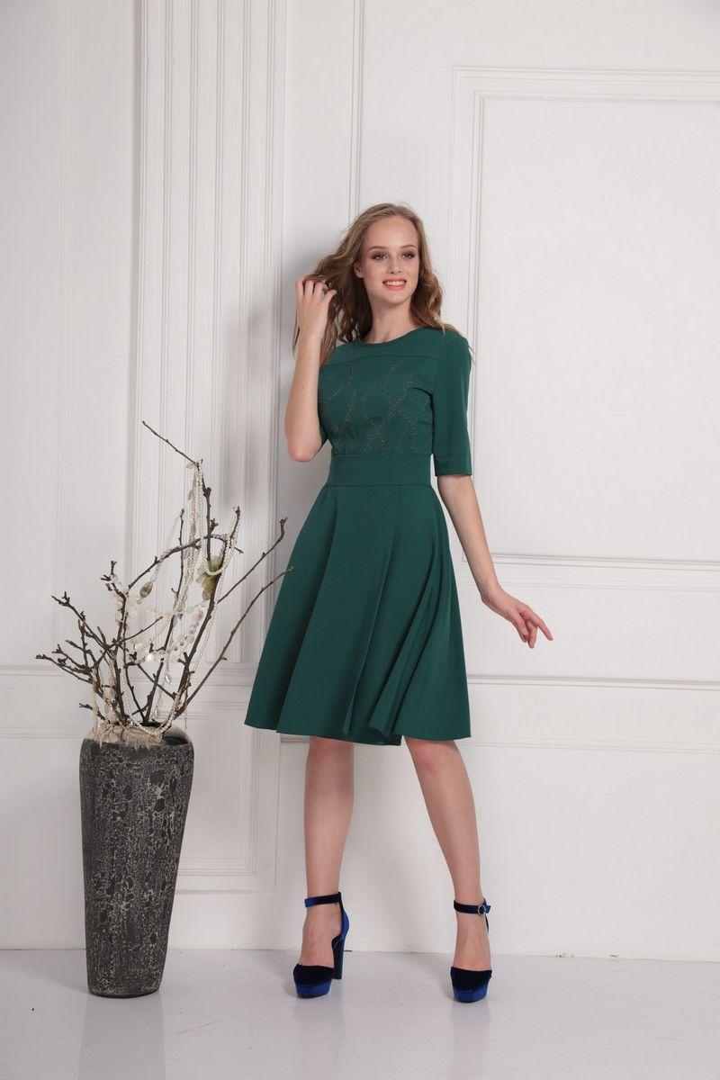 платье AMORI 9412 зеленый