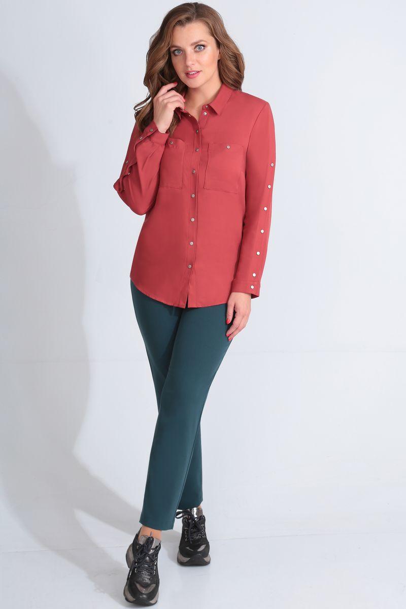 блуза Golden Valley 26421 терракот