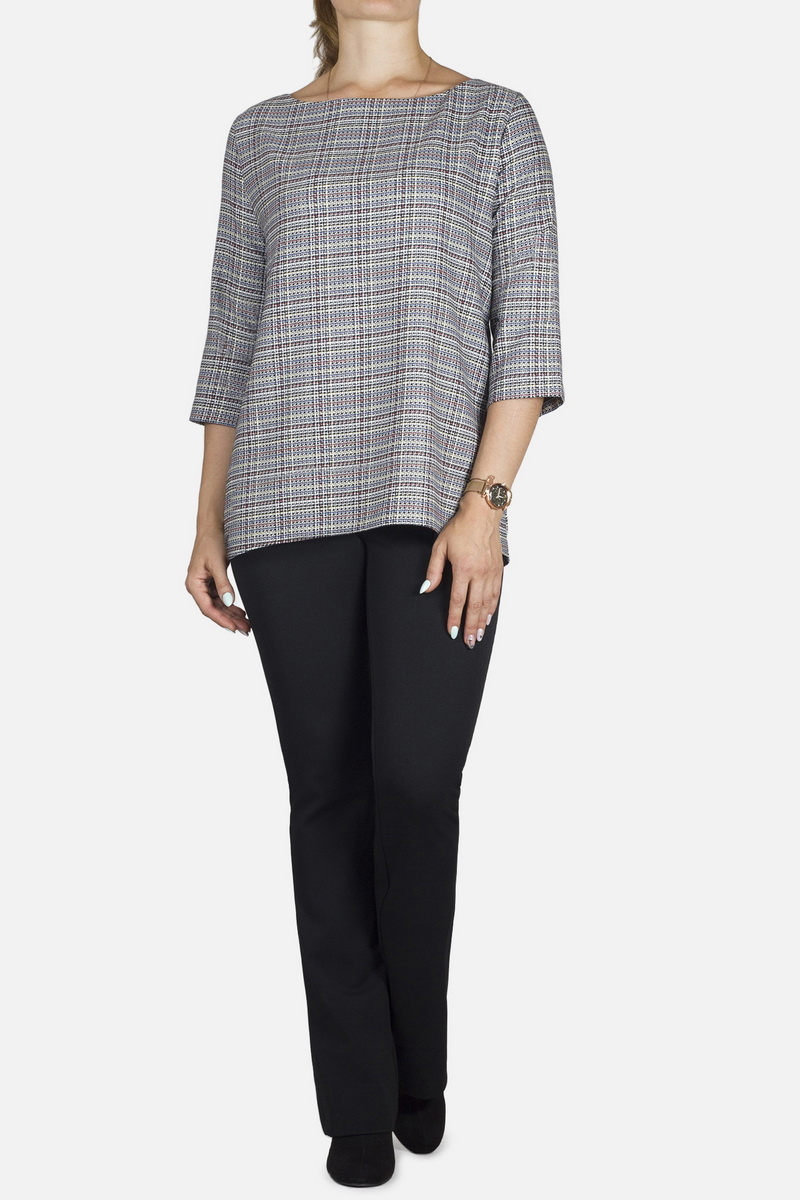 блуза Mirolia 709 серый