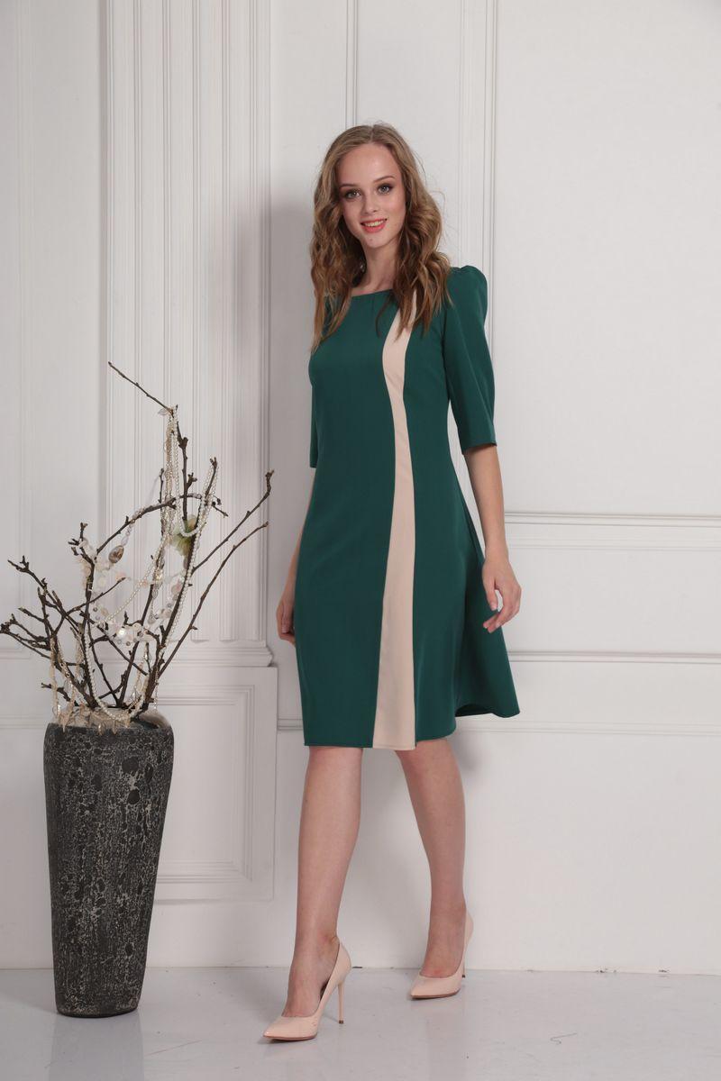 платье AMORI 9417 изумруд