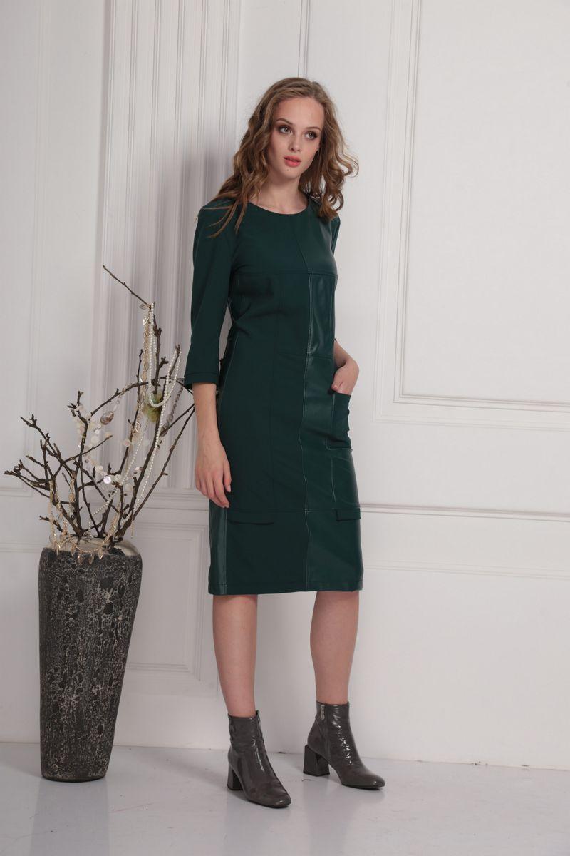платье AMORI 9421 зеленый