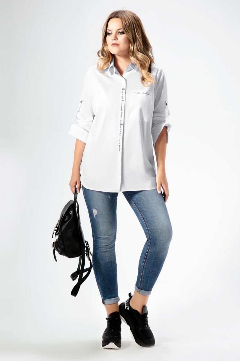 блуза Панда 436041 белый