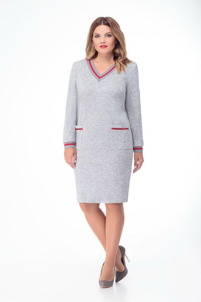 платье DaLi 2466 серый