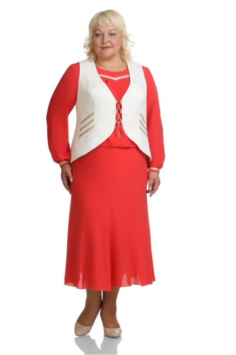 блуза,  жилет,  юбка Classic Moda 393