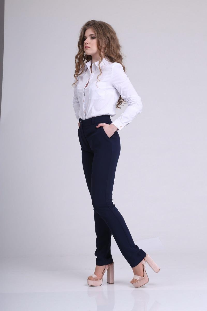 брюки AMORI 5017 темно-синий