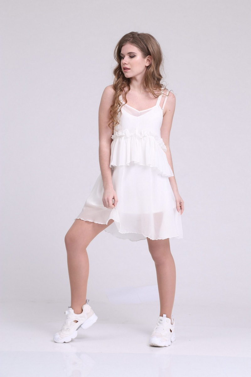 платье AMORI 9211 молочный