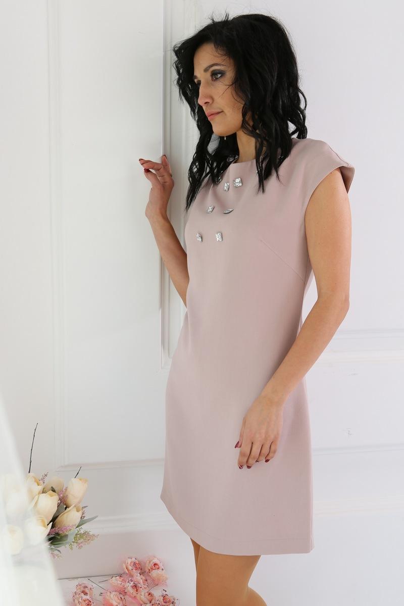 платье AMORI 9219 бежевый