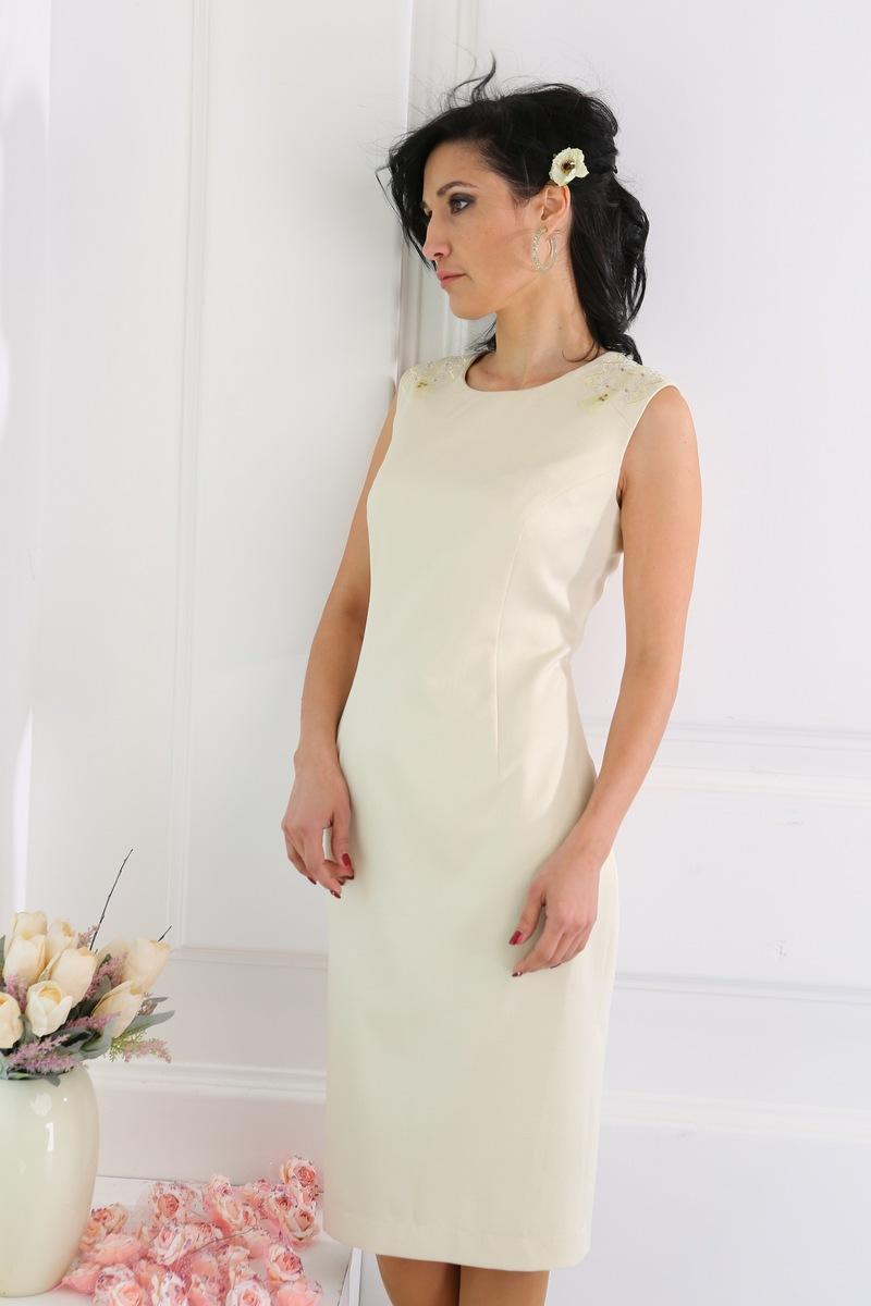 платье AMORI 9221 молочный
