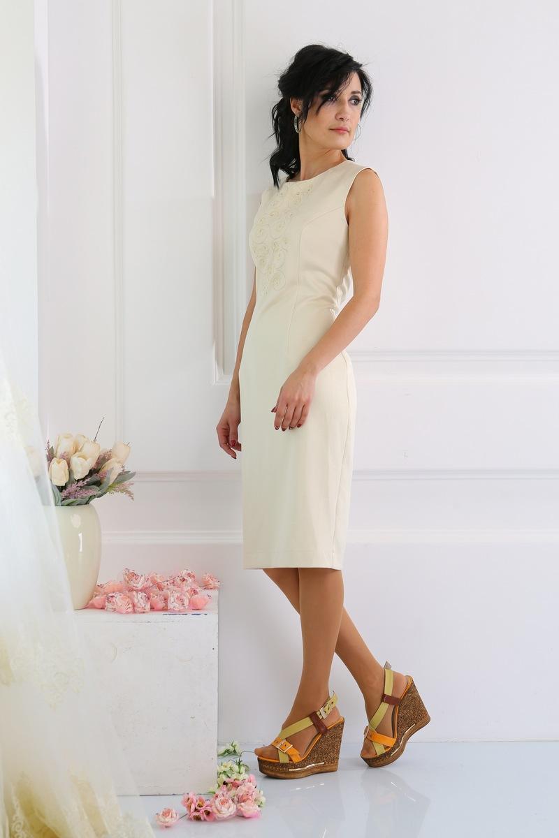 платье AMORI 9223 молочный