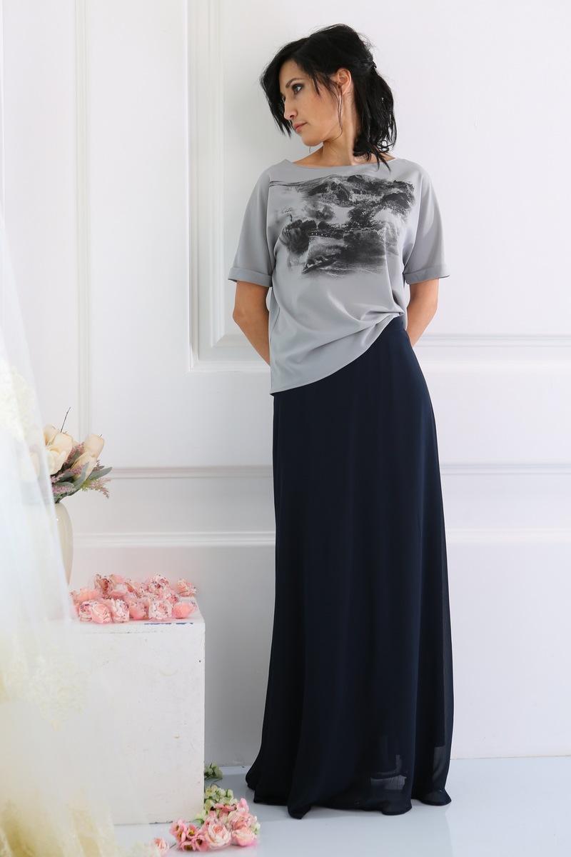 юбка AMORI 3026 темно-синий