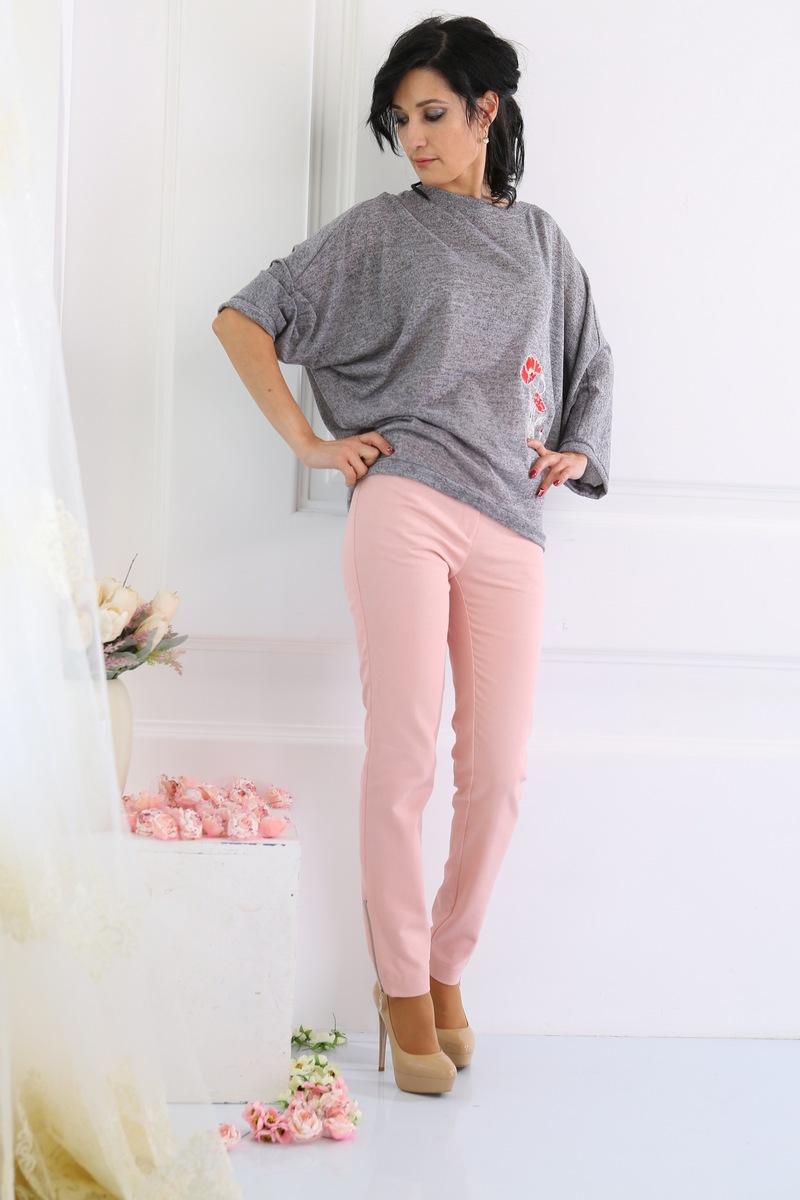блуза AMORI 6051 серый