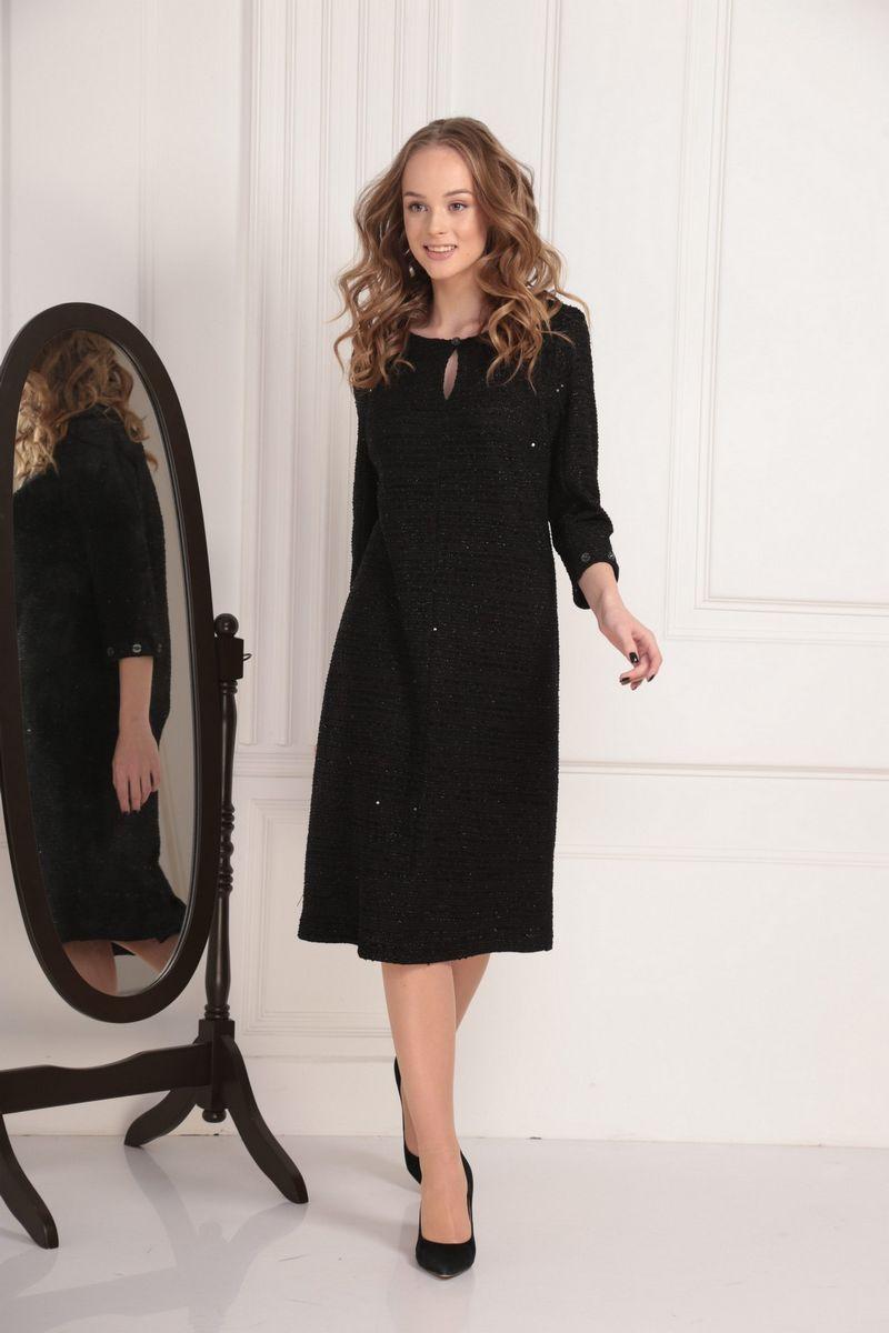 платье AMORI 9434 чёрный