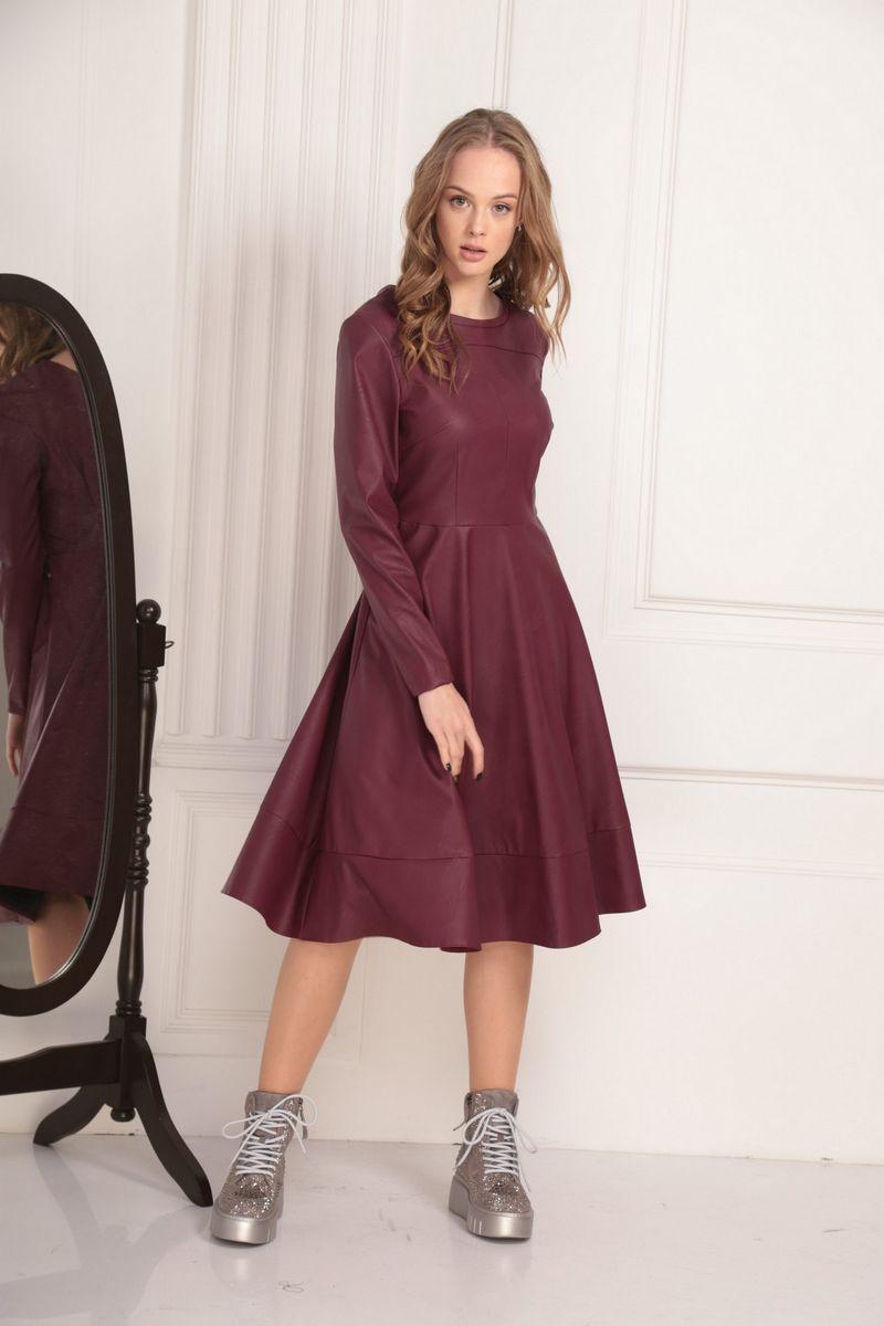 платье AMORI 9437 вишня