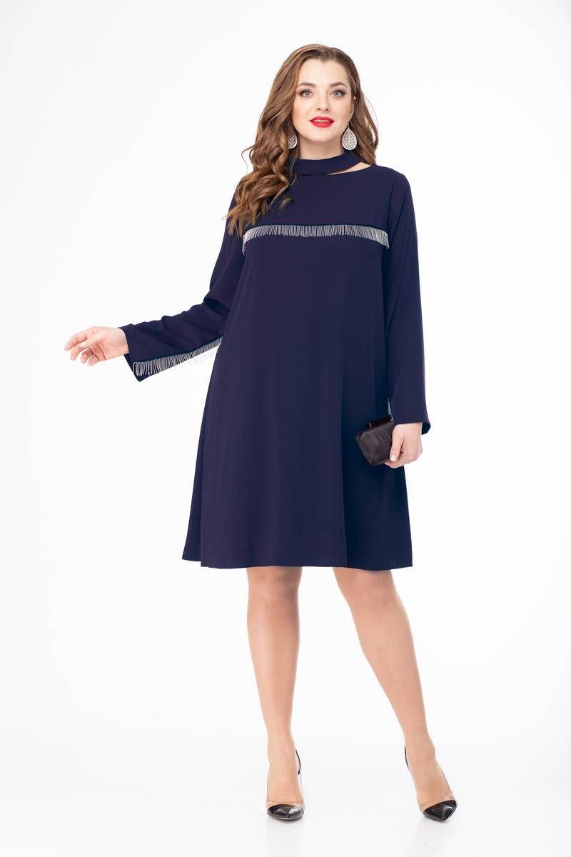 платье Gold Style 2407 синий