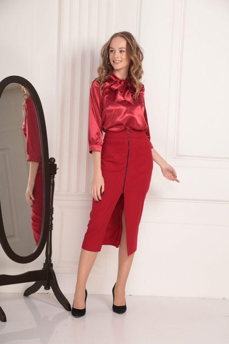 блуза AMORI 6194 красный