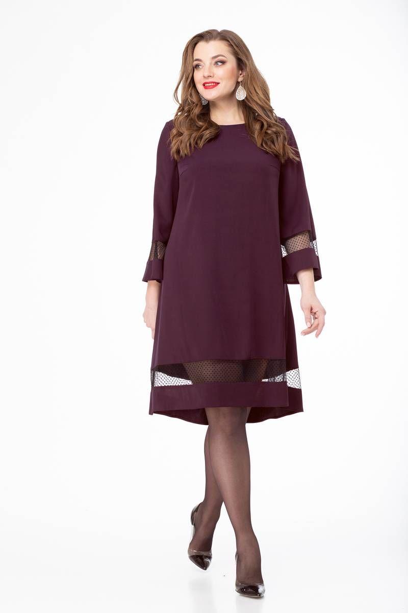 платье Gold Style 2409 баклажан