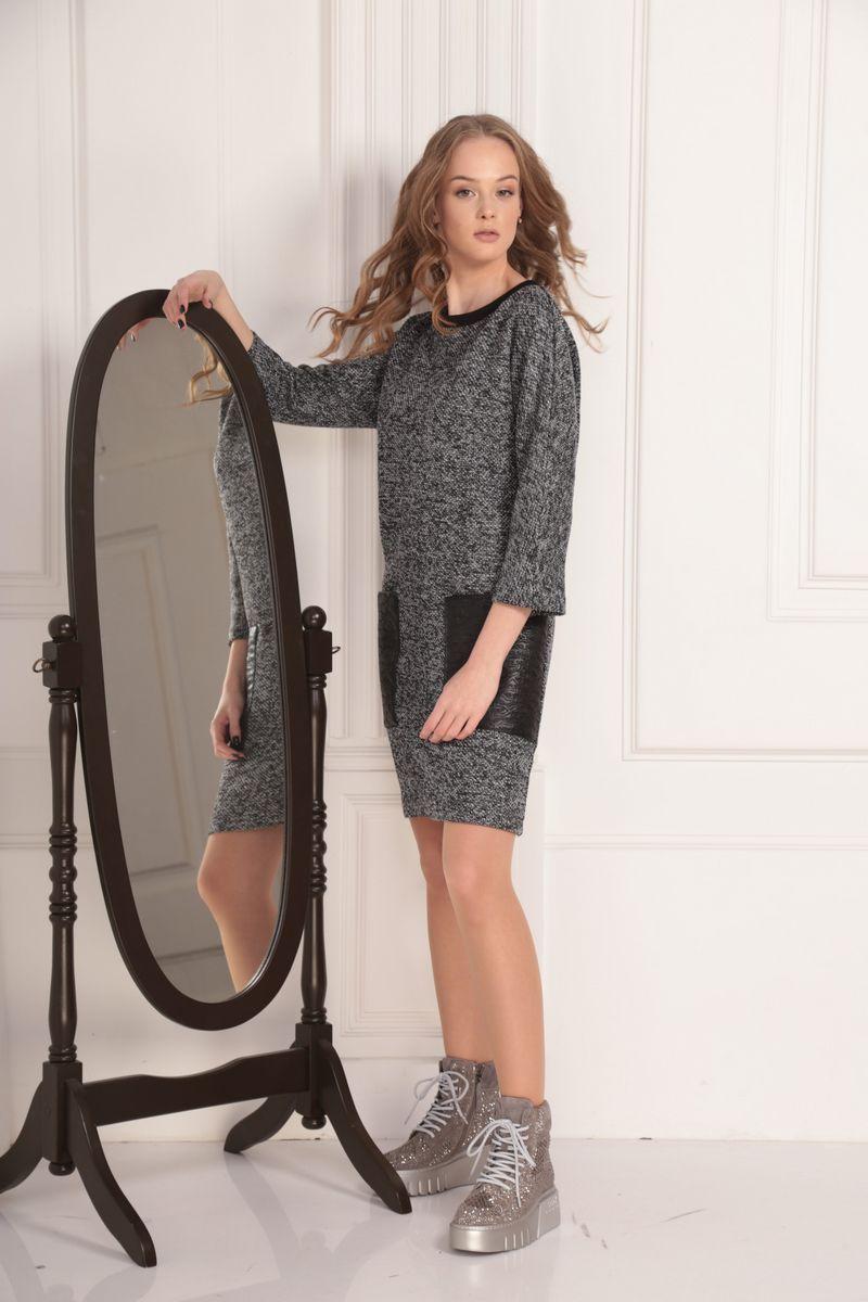 платье AMORI 9448 графит