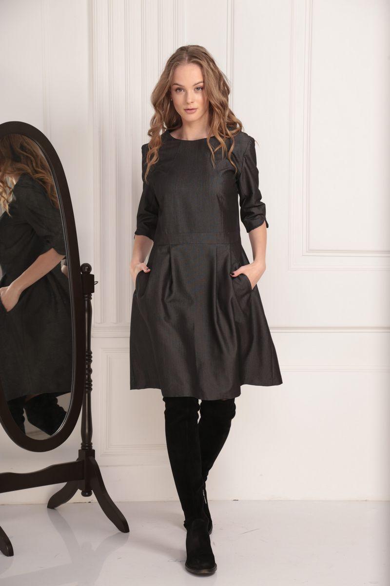 платье AMORI 9449 графит
