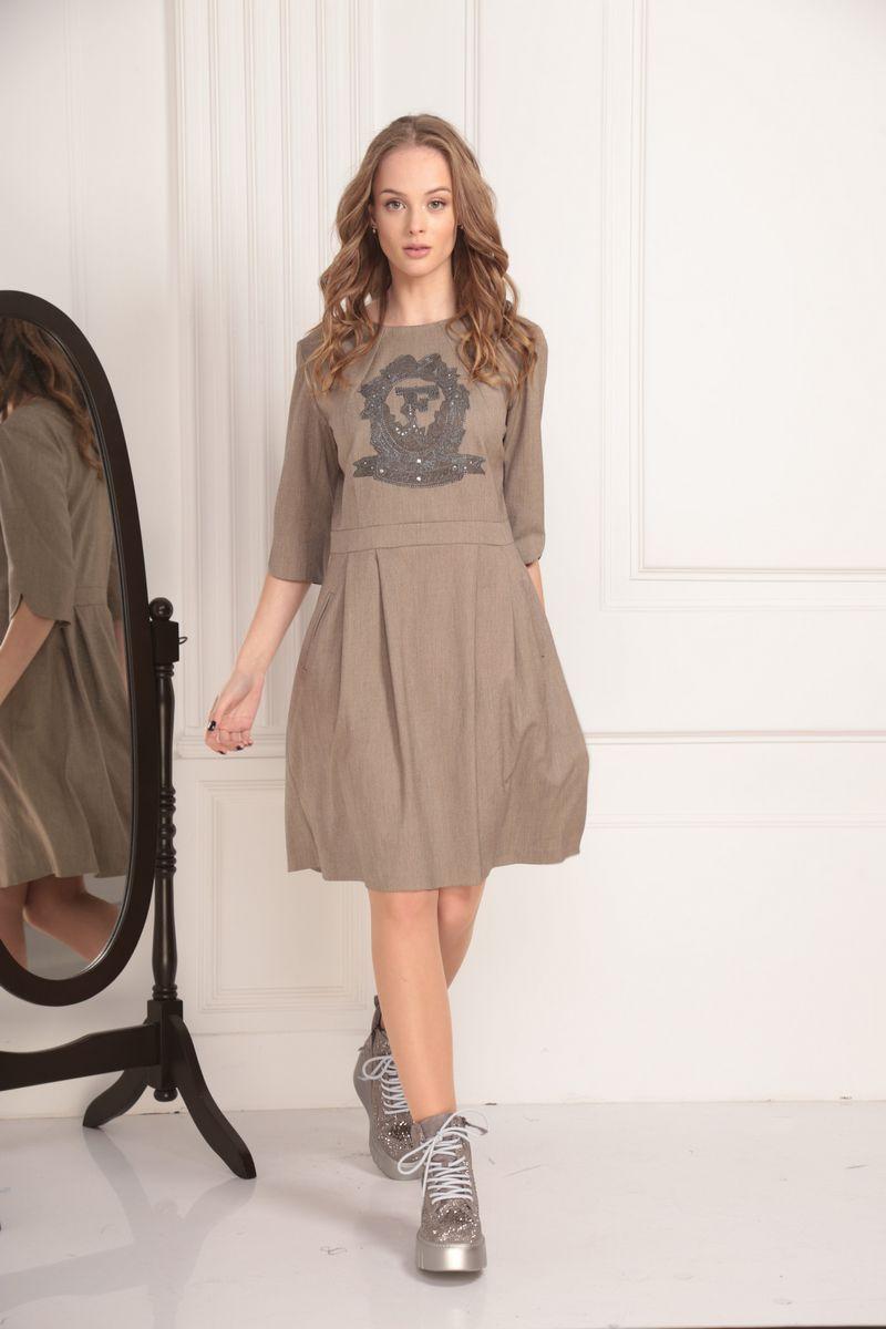 платье AMORI 9451 песок