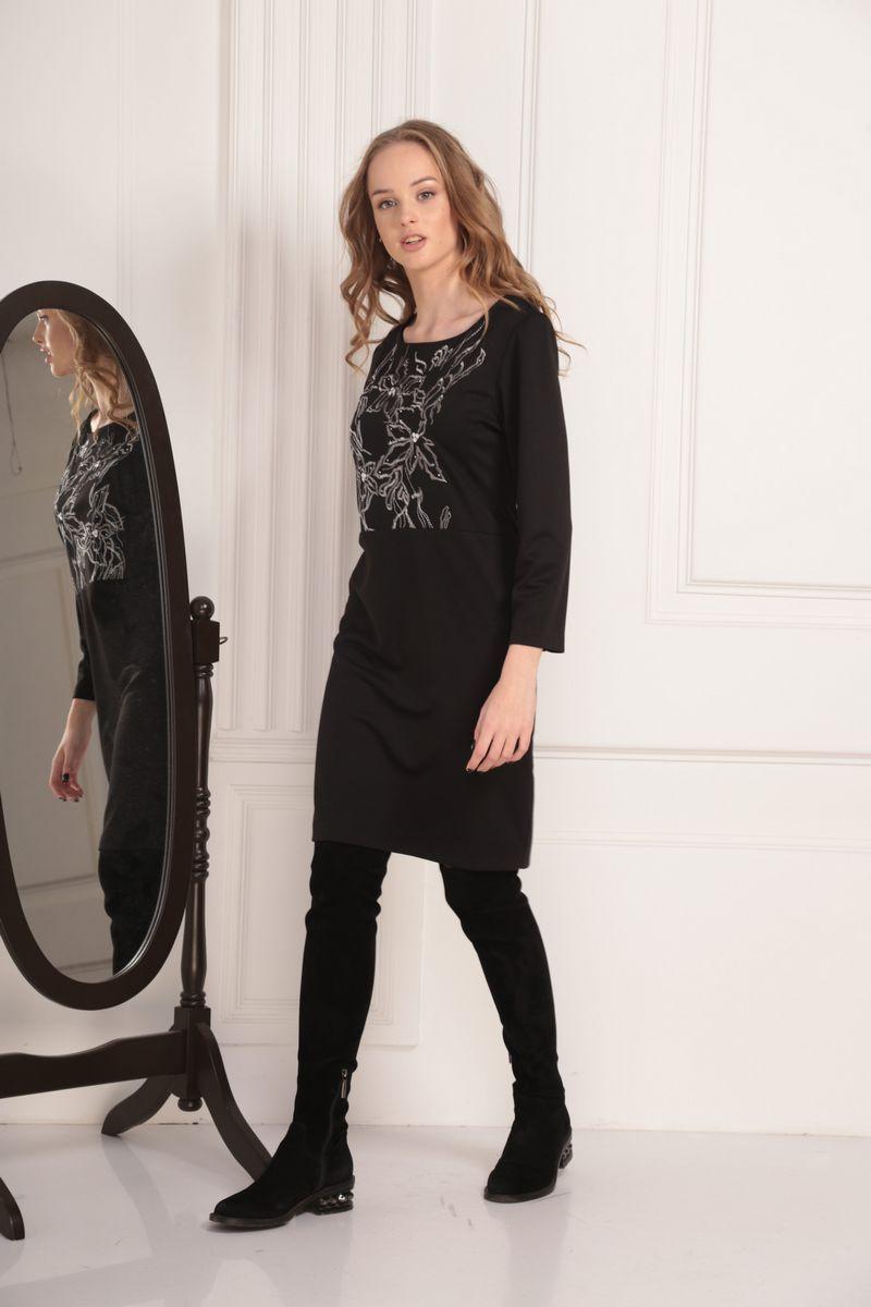 платье AMORI 9452 чёрный