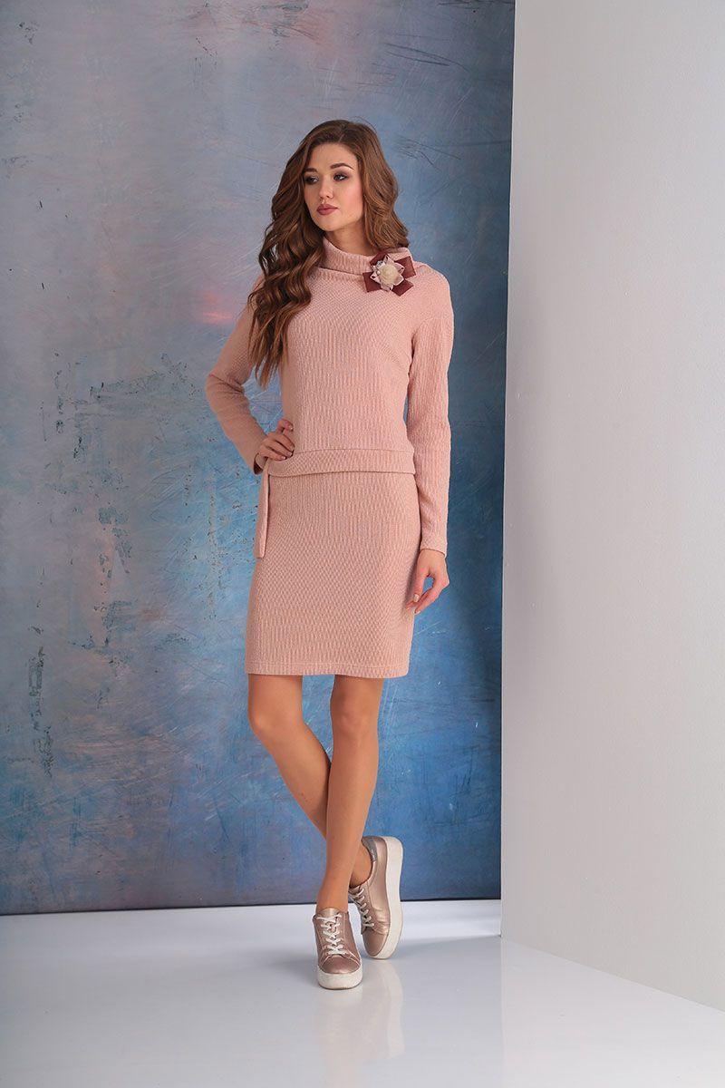 платье Golden Valley 4520 сух.роза