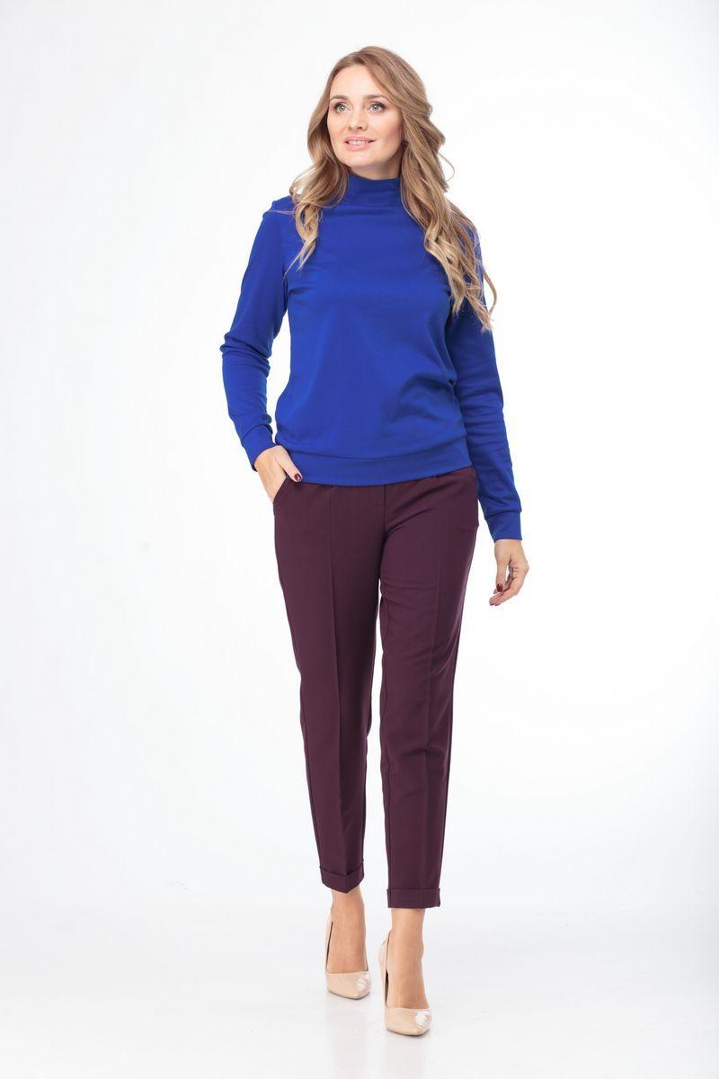 брюки Anelli 418 винный