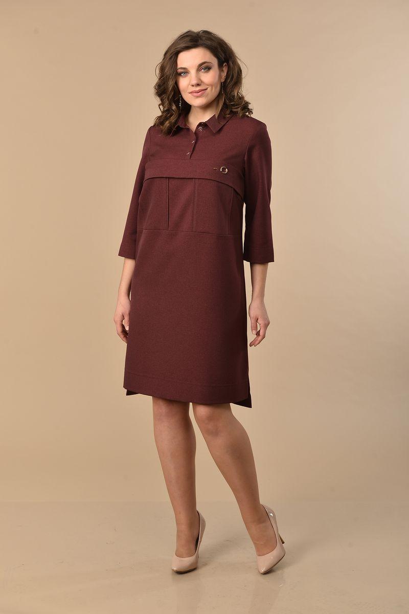 платье Lady Style Classic 1684 бордо