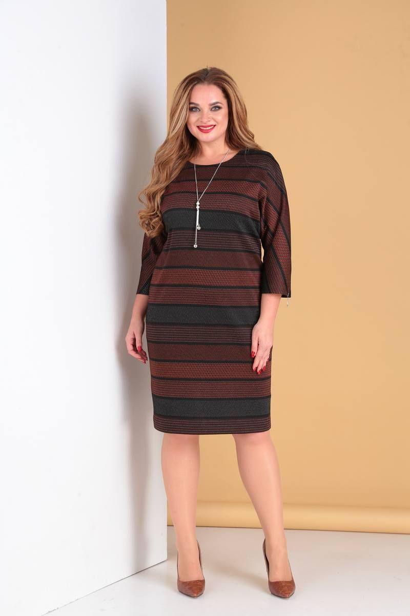 платье Moda Versal П2142 терракот