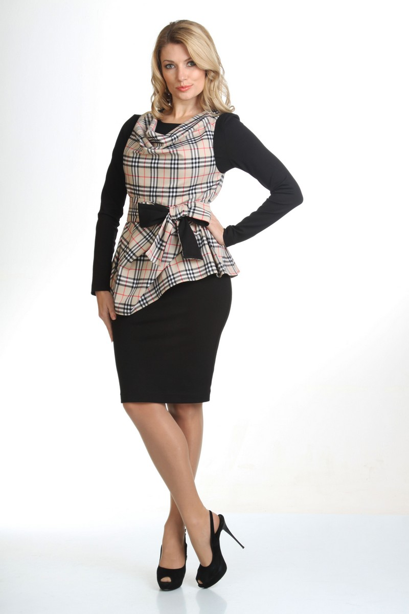 жилет,  платье Liona Style 414