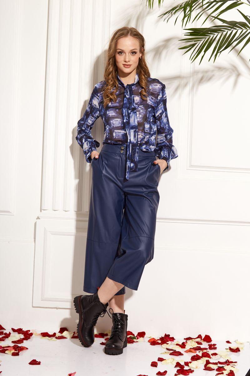 блуза AMORI 6202 синий