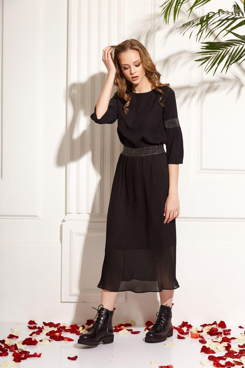 блуза AMORI 6214 чёрный