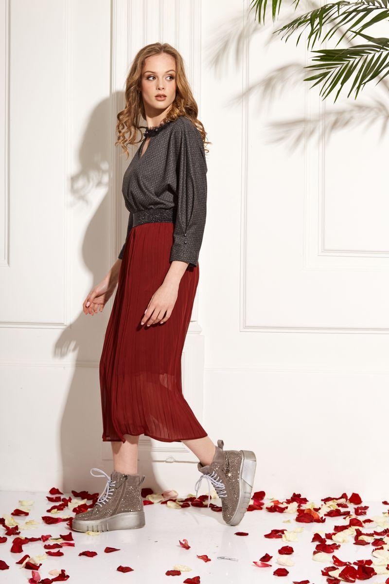блуза AMORI 6219 графит