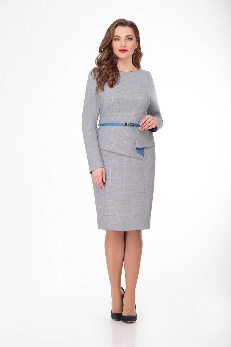 платье Gold Style 2346 светло-серый