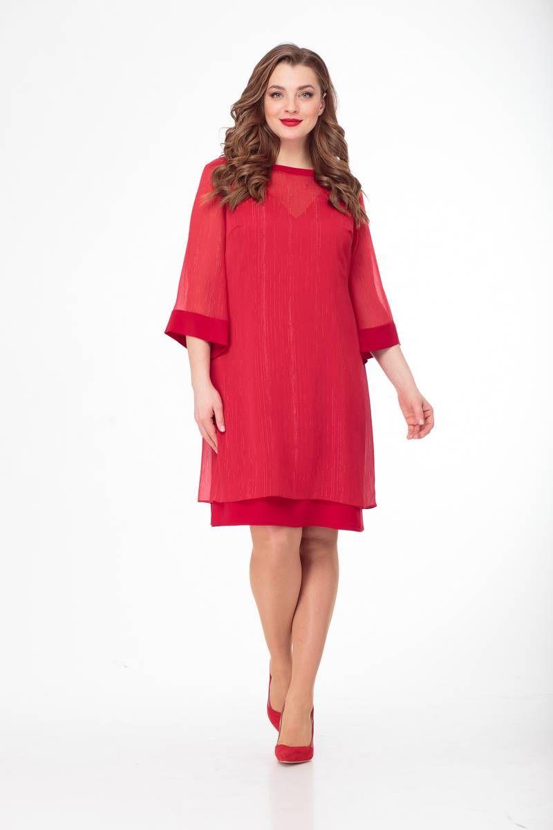 платье Gold Style 2386 красный