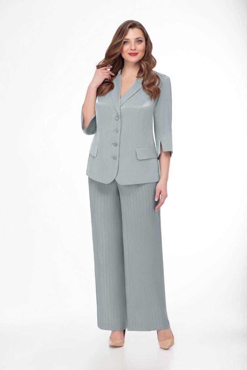 брюки,  жакет Gold Style 2310 серый