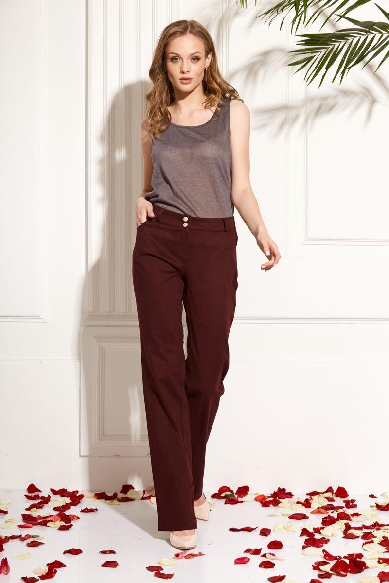 брюки AMORI 5103 вино