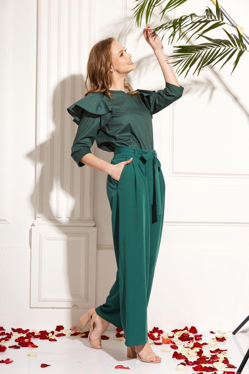 блуза AMORI 6212 зеленый