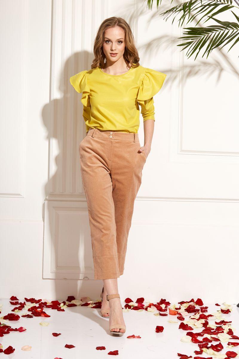 блуза AMORI 6212 желтый