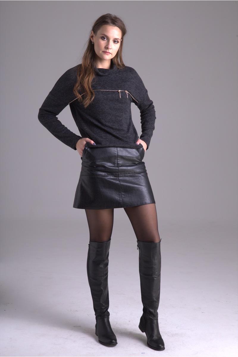 юбка AMORI 3028 черный