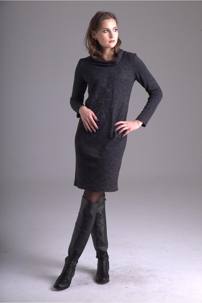 платье AMORI 9222 черный