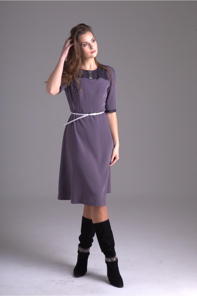 платье AMORI 9229 фиолетовый