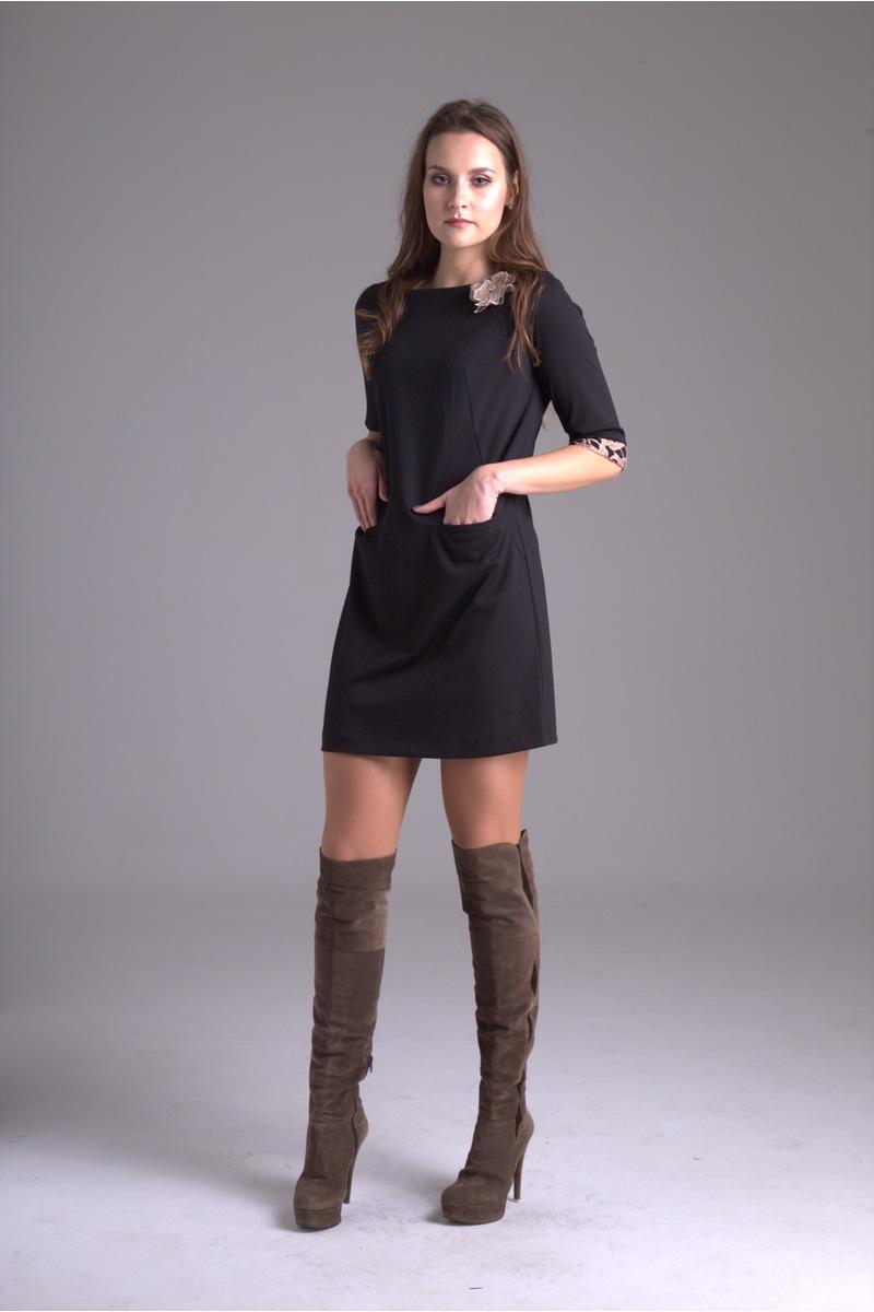 платье AMORI 9230 черный