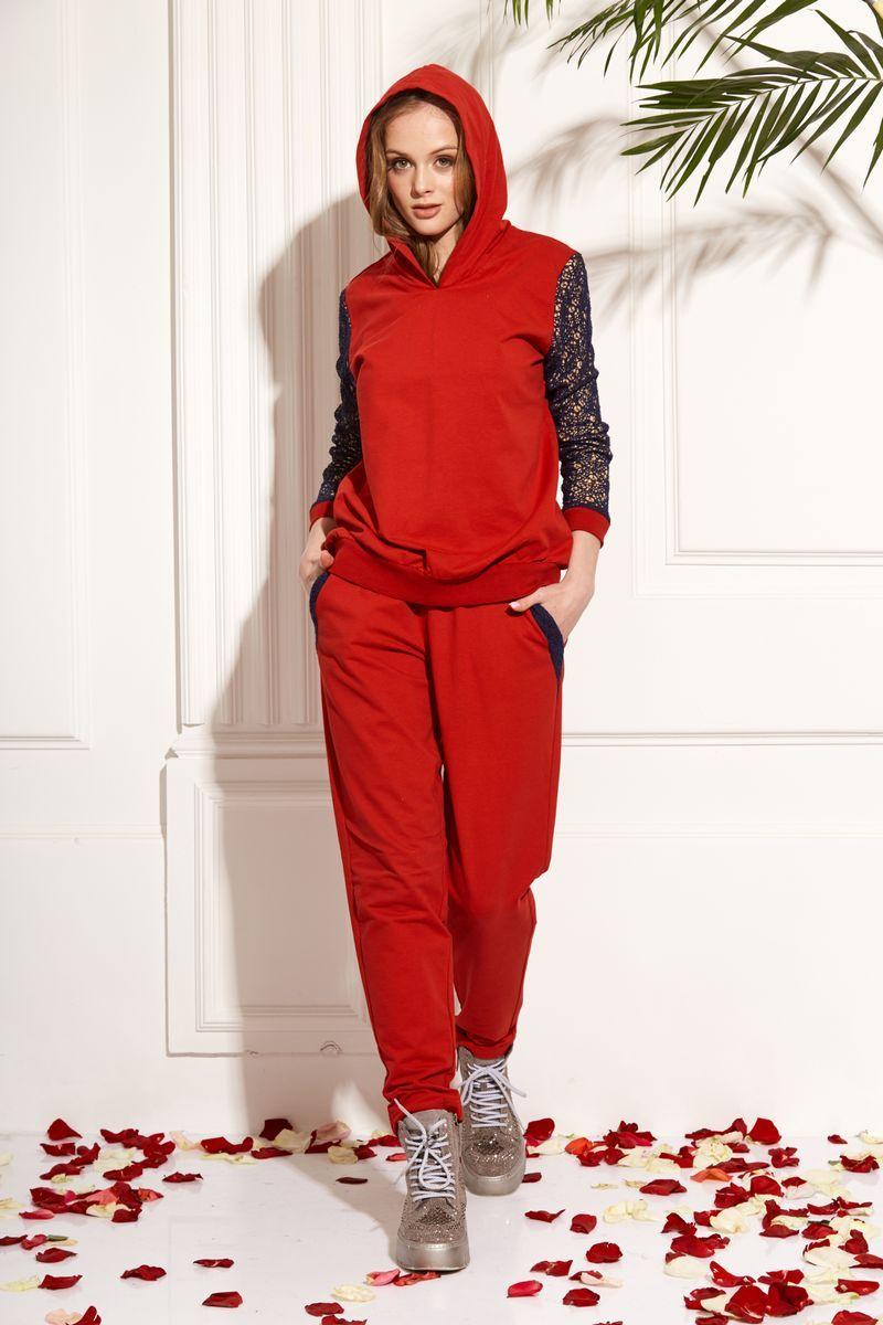 брюки AMORI 5091 красный